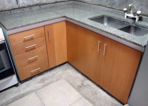 aprovecha el espacio de tu cocina (mueble cocina ele)