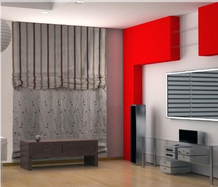 elegir las cortinas de tu casa (salón con cortinas)