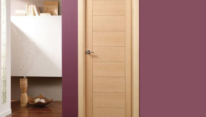 Tipos de puertas (puerta de interior de paso)
