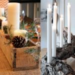 Decorar tu casa en Navidad (Centros de mesa)