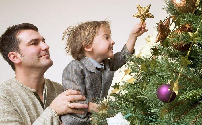 decorar tu casa en Navidad (poner el árbol)